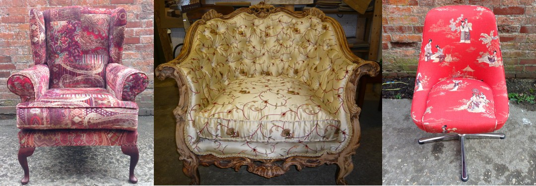 Traditional furniture upholstery and restoration.